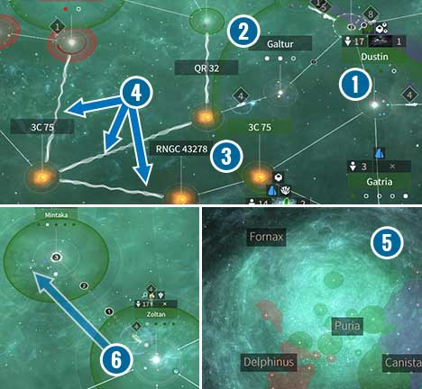 The game offers a lot of different ways which allows you to move in systems and constellations. - Systems and ways of travelling in Endless Space 2 - Gameplay basics - Endless Space 2 Game Guide