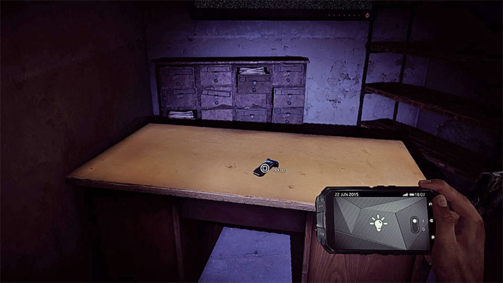 The last, third, clip is also in the area and you can find it lying on the desk presented in the picture - Locked and Loaded | Trophy Guide - Trophy Guide - Get Even Game Guide