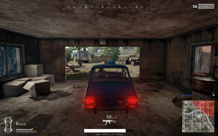 1 - First moments after touchdown in Battlegrounds Controls - Game Guide - Playerunknowns Battlegrounds Game Guide