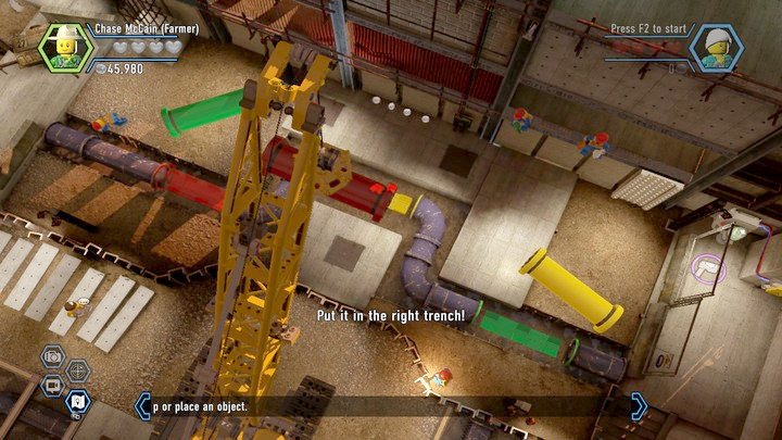 Fix the pipeline - Construction site | Chapter 12 | Walkthrough - Chapter 12 - LEGO City: Undercover Game Guide