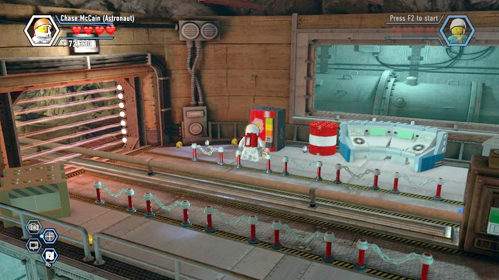 Obtain dynamite and blow up the last gate - Rexs HQ | Chapter 13 | Walkthrough - Chapter 13 - LEGO City: Undercover Game Guide