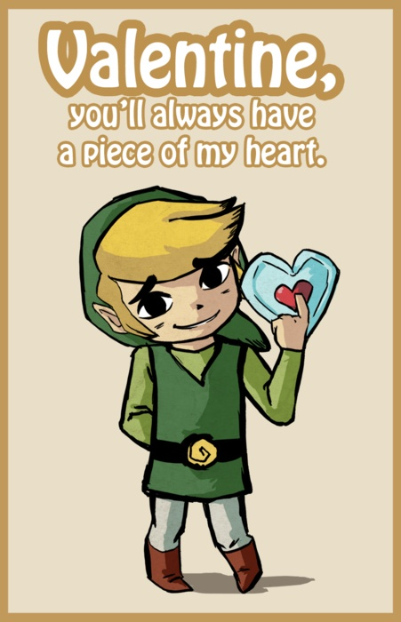 Look At This Adorable Zelda Valentineu0027s Day Art On Valentineu0027s Day | Latest  Gaming News U0026 Video About PC, Playstation, Xbox, Wii, Online Games, Etc
