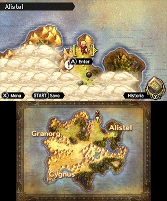 Screenshot for Radiant Historia: Perfect Chronology on Nintendo 3DS