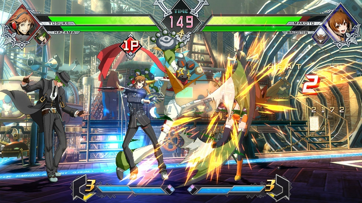 Screenshot for BlazBlue: Cross Tag Battle on PlayStation 4