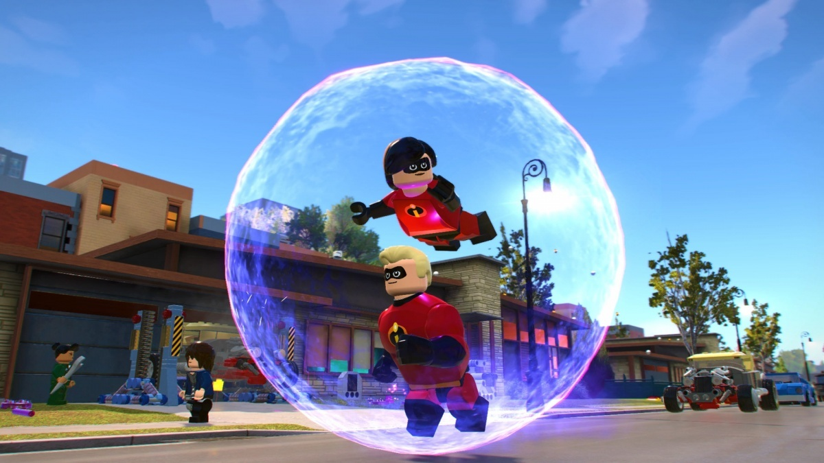 Screenshot for LEGO The Incredibles on PlayStation 4