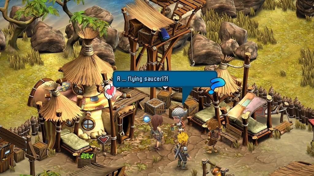 Screenshot for Rainbow Skies on PlayStation 4