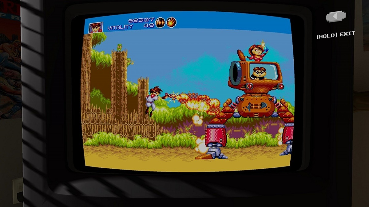 Screenshot for SEGA Mega Drive Classics on PlayStation 4
